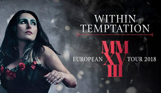 Концерт «Within Temptation» 18 октября 2018 в клубе «Adrenaline Stadium» - Билеты
