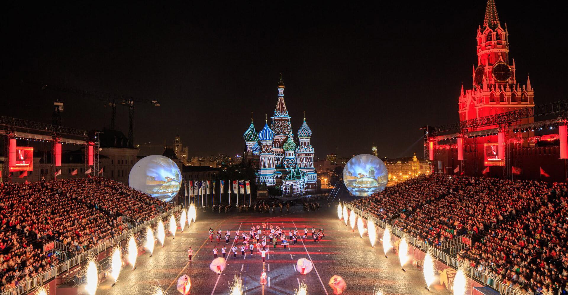 Купить билеты на Фестиваль «Спасская башня» 2020 на Красной площади 0+