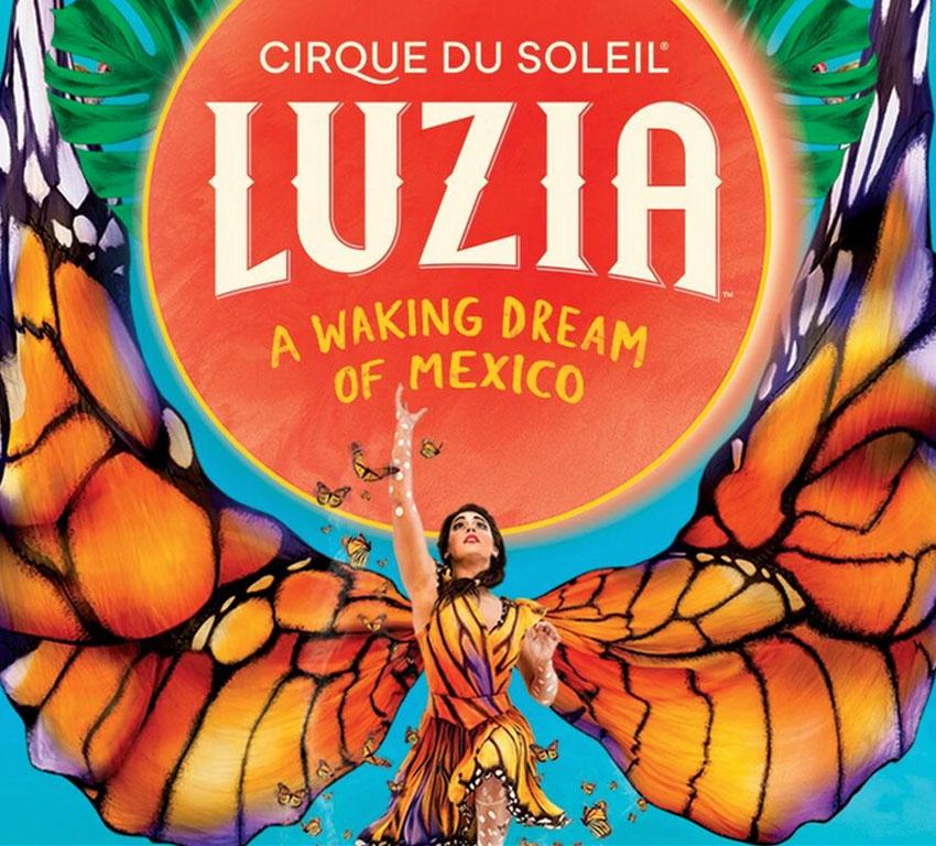Билеты на Cirque du Soleil «LUZIA» с 19 марта по 17 мая 2020 в Дворце гимнастики Ирины Винер-Усмановой