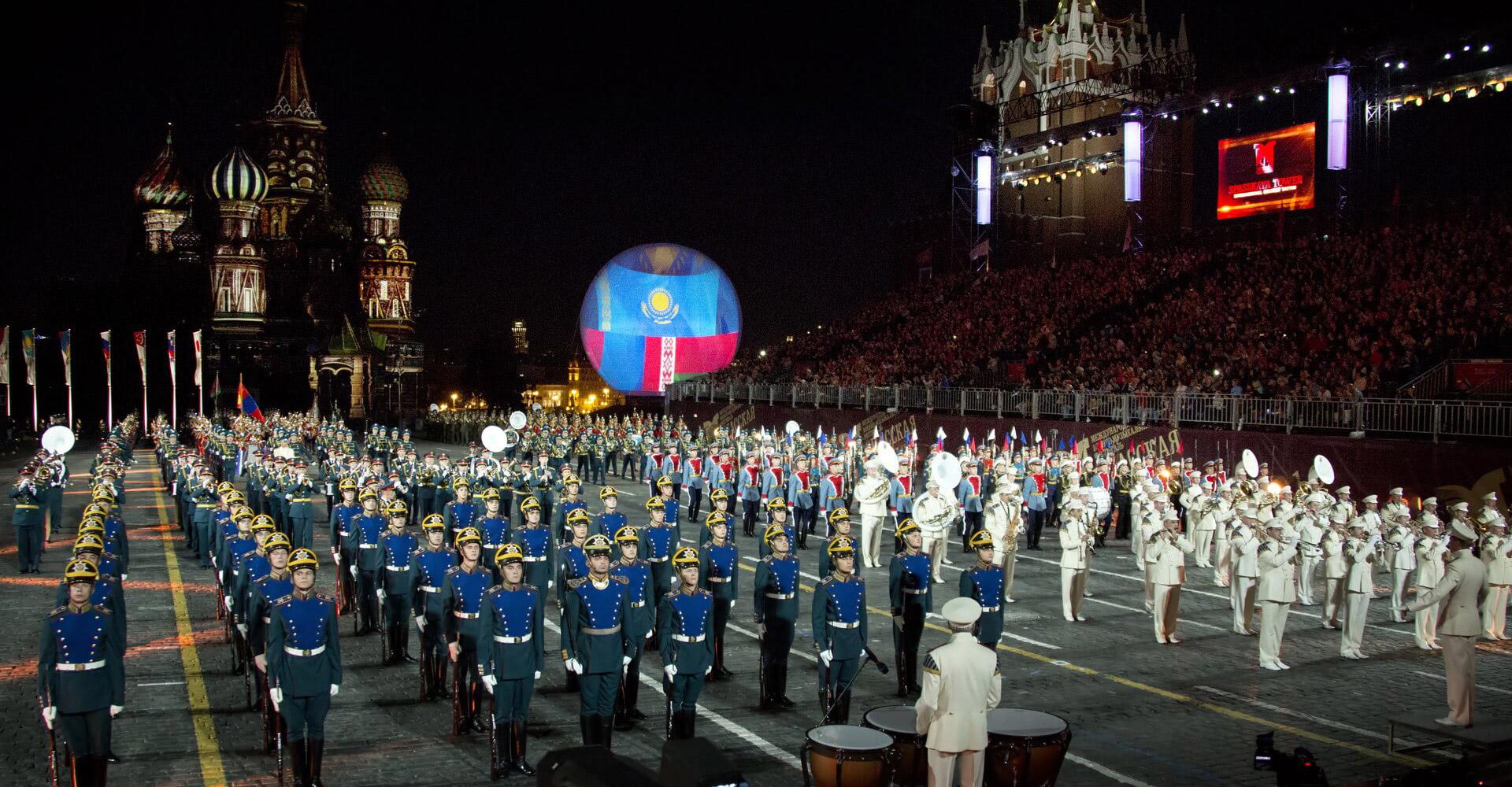 Билеты на Фестиваль «Спасская башня» 2020 на Красной площади. Забронировать на сайте 0+